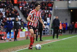 March 16, 2019 - Sunderland, Tyne and Wear, United Kingdom - Sunderland's Luke O'Nien during the Sky Bet League 1 match between Sunderland and Walsall at the Stadium Of Light, Sunderland on Saturday 16th March 2019. (Credit: Steven Hadlow | MI News) (Credit Image: © Mi News/NurPhoto via ZUMA Press)