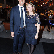 NLD/Amsterdam/20151210 - Vipnight LXRY Masters of Luxery 2015, Kim Barend en partner