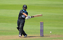 Brett D'Oliveira of Worcestershire in action  - Mandatory by-line: Alex Davidson/JMP - 17/08/2016 - CRICKET - Cooper Associates County Ground - Taunton, United Kingdom - Somerset v Worcestershire Rapids - Royal London One Day Cup Quarter Final