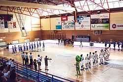 Teams during Women's Basketball - Slovenia vs Slovaska on the 14th of June 2019, Dvorana Poden, Skofja Loka, Slovenia. Photo by Matic Ritonja / Sportida