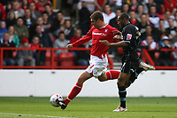 Photo: Pete Lorence.<br />Nottingham Forest v Scunthorpe United. Coca Cola League 1. 07/10/2006.<br />Forest's Grant Holt comes close to scoring.