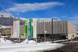 19.01.2013, Schladming, AUT, FIS Weltmeisterschaften Ski Alpin, Schladming 2013, Vorberichte, im Bild das WM-Medienzentrum (Congress Schladming) am 19.01.2013 // the media centre (Congress Schladming) on 2013/01/19, preview to the FIS Alpine World Ski Championships 2013 at Schladming, Austria on 2013/01/19. EXPA Pictures © 2013, PhotoCredit: EXPA/ Martin Huber