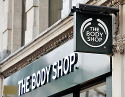 File photo dated 06/01/16 of a shop sign for The Body Shop in London as the cosmetics chain has been sold to Brazilian firm Natura in a deal thought to be worth one billion euros (£884 million).