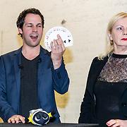 NLD/Amsterdam/20170508 - Bekendmaking stemmencast Verschrikkelijke Ikke 3, Victor Midz en Trudy Labij
