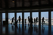 Israel, Tel Aviv, The observatory on top of Azrieli centre building