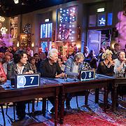 NLD/Hilversum/20131130 - Start Radio 2000, dj's top2000, Leona Philippo, Frans van Zoest, George Kooijmans, Rinus Gerritsen, Eva Simons en Gijs Staverman