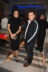 MARIE HELVIN and BENJAMIN AHRENS at a preview of Garrard's new collections and celebrates a Kaleidoscope of Colour at Garrard, 24 Albemarle Street, London on 10th May 2007.<br /><br />NON EXCLUSIVE - WORLD RIGHTS