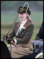 May 9, 2019 - Windsor, United Kingdom - Image licensed to i-Images Picture Agency. 09/05/2019. Windsor , United Kingdom. Lady Louise Windsor competing in the carriage driving on the second day of Royal Windsor Horse Show, United Kingdom. (Credit Image: © Stephen Lock/i-Images via ZUMA Press)