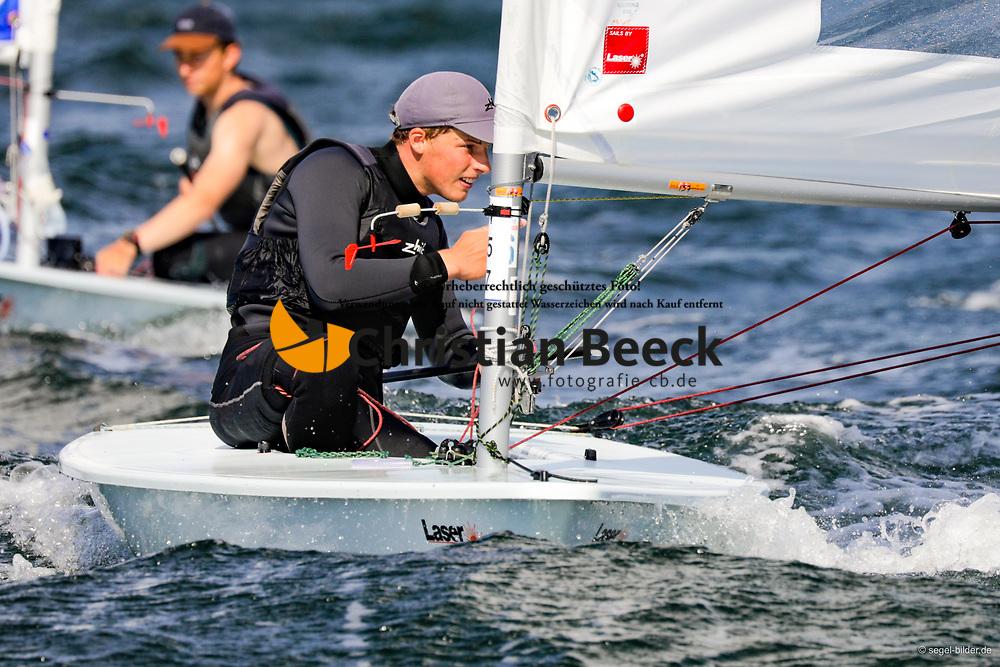 , Travemünder Woche 19. - 28.07.2019, Laser Radial - GER 211433 - Jakob PAULS - Yachtclub Wismar 61 e.V