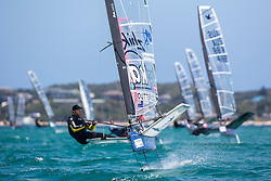 Day 2 of the McDougall + McConaghy 2015 Moth Worlds, Sailing Anarchy and Sperry Top-Sider Moth Worlds coverage 2015, Sorrento, Australia. January 11th 2015. Photo © Sander van der Borch.
