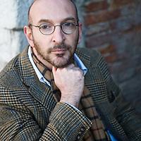 Alessandro Piperno poses in Venice ahead of his talk for the Incontri di Civilta event in Venice. ----------------------<br /> Marco Secchi/XianPix<br /> email msecchi@gmail.com<br /> http://www.marcosecchi.com