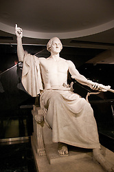 Smithsonian Museum of American History, Sculpture of Washington, Washington, DC, dc124455