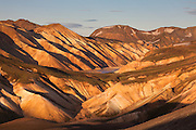 Landmannalaugar, central highland of Iceland