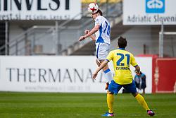 Luka Zinko of NK Domzale during football match between NK Celje and NK Domžale in 27th Round of Prva Liga Telekom Slovenije 2016/17, on April 1, 2017 in Arena Petrol, Celje, Slovenia. Photo by Ziga Zupan / Sportida