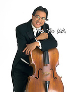 Yo Yo Ma with cello