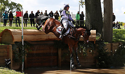 Arctic Soul ridden by Gemma Tattersall on the Cross Country during day four of the 2019 Mitsubishi Motors Badminton Horse Trials at The Badminton Estate, Gloucestershire. PRESS ASSOCIATION Photo. Picture date: Saturday May 4, 2019. See PA story EQUESTRIAN Badminton. Photo credit should read: David Davies/PA Wire