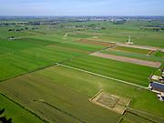 Nederland, Zuid-Holland, Hazerswoude-Dorp, 14-09-2019; Westeinde, Polder de Noordplas. Voorziening voor afvoer luchtstroom behorende bij de zuidelijke ingang boortunnel van de HSL-spoorlijn. De tunnel is ook bekend als tunnel onder het Groene Hart.<br /> Entrance highspeed train tunnel.<br /> <br /> luchtfoto (toeslag op standard tarieven);<br /> aerial photo (additional fee required);<br /> copyright foto/photo Siebe Swart