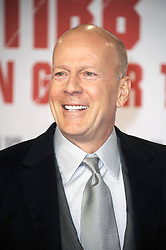 Bruce Willis attends a premiere for 'Die Hard - Ein Guter Tag Zum Sterben' at Hotel Adlon on February 5, 2013, Berlin, Germany. Photo by Imago / i-Images...UK ONLY