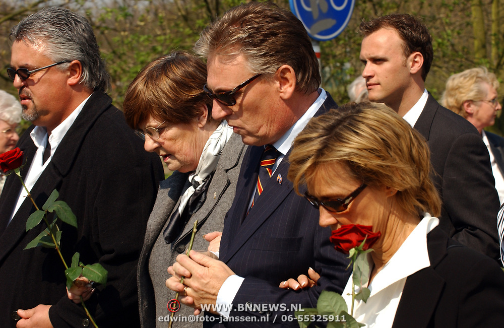 Begrafenis vader Henny Huisman