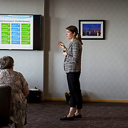 23.05.2018.       <br /> Today, the Institute of Community Health Nursing (ICHN) hosted its2018 community nurseawards in association withHome Instead Senior Care,at its annual nursing conference, in the Strand Hotel Limerick, rewarding public health nurses for their dedication to community care across the country. <br /> <br /> Pictured at the event was Anne Leary.  Picture: Alan Place