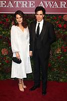 Louise Delamere and Stephen Mangan, Evening Standard Theatre Awards, London Coliseum, London, UK, 24 November 2019, Photo by Richard Goldschmidt