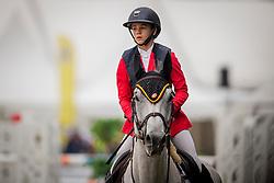 Team Netherlands<br /> European Jumping Championship Children<br /> Zuidwolde 2019<br /> © Hippo Foto - Dirk Caremans<br /> Team Netherlands