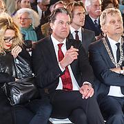 NLD/Amsterdam/20160515 - Nationaal Holocaust museum opent met schilderijen Jeroen Krabbé, Ralph Keuning en Eberhard van der Laan