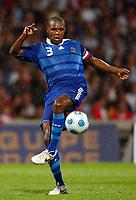 Fotball<br /> Frankrike v Tyrkia<br /> Foto: DPPI/Digitalsport<br /> NORWAY ONLY<br /> <br /> FOOTBALL - FRIENDLY GAMES 2008/2009 - FRANCE v TURKEY - 5/06/2009 <br /> <br /> ERIC ABIDAL (FRA)