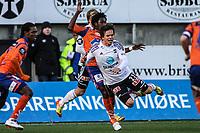 Fotball ,  15.04.2012 Tippeligaen , Eliteserien,  Aalesund v Odd <br /> Lars Kristian Eriksen , Odd<br />  Foto: Kenneth Hjelle , Digitalsport