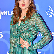 Binky Felstead attends BBC1's National Lottery Awards 2019 at BBC Television Centre, 101 Wood Lane, on 15 October 2019, London, UK.
