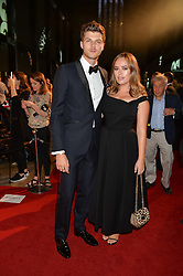 TANYA BURR and JIM CHAPMAN at the GQ Men of The Year Awards 2016 in association with Hugo Boss held at Tate Modern, London on 6th September 2016.