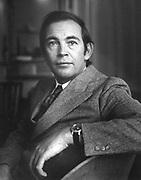 Portrait photograph of Dr. Christian Barnard (November 8, 1922 – September 2, 2001) , eminent South African heart transplant surgeon