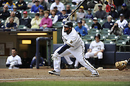 MILWAUKEE - APRIL 28:  Prince Fielder #28 of the Milwaukee Brewers bats against the Pittsburgh Pirates on April 28, 2010 at Miller Park in Milwaukee, Wisconsin.  The Pirates defeated the Brewers 6-5 in 14 innings.  (Photo by Ron Vesely)