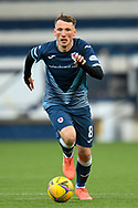 Regan Hendry (#8) of Raith Rovers FC during the SPFL Championship match between Raith Rovers and Heart of Midlothian at Stark's Park, Kirkcaldy, Scotland on 30 April 2021.
