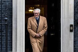 © Licensed to London News Pictures. 07/02/2017. London, UK. Michael Heseltine leaving Downing Street. Photo credit : Tom Nicholson/LNP