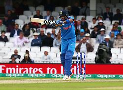 June 8, 2017 - London, United Kingdom - Hardik Pandya of India. during the ICC Champions Trophy match Group B between India and Sri Lanka at The Oval in London on June 08, 2017  (Credit Image: © Kieran Galvin/NurPhoto via ZUMA Press)