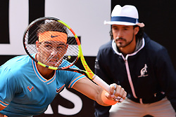 May 19, 2019 - Roma, Italia - Foto Alfredo Falcone - LaPresse.19/05/2019 Roma ( Italia).Sport Tennis.Rafael Nadal (esp) vs Novak Djokovic (srb).Internazionali BNL d'Italia 2019 .Nella foto:nadal..Photo Alfredo Falcone - LaPresse.19/05/2019 Roma (Italy).Sport Tennis.Rafael Nadal (esp) vs Novak Djokovic (srb).Internazionali BNL d'Italia 2019.In the pic:nadal (Credit Image: © Alfredo Falcone/Lapresse via ZUMA Press)