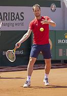 Richard Gasquet (FRA) during practice ahead of the Roland-Garros 2021, Grand Slam tennis tournament, Qualifying, on May 29, 2021 at Roland-Garros stadium in Paris, France - Photo Nicol Knightman / ProSportsImages / DPPI