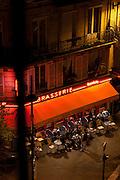 A brasserie in Paris, France
