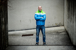 Portrait of Andrej Tavzelj, Slovenia Ice Hockey player, on January 12, 2018 in Trzic, Slovenia. Photo by Vid Ponikvar / Sportida