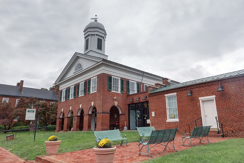 The historical courthouse located in Madison County, Virginia Photo/Andrew Shurtleff