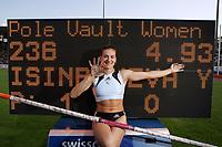 Weltrekord im Stabhochsprung von Yelena Isinbayeva (RUS). © Urs Bucher/EQ Images