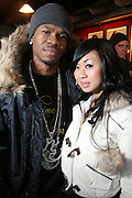 Chamillionaire and Tracy Nguyen at The Black House during the 2008 Sundance Film Festival. ..HISTORY..The Blackhouse Foundation was created in 2007 by a group of dedicated individuals interested in black cinema - preserving and furthering its legacy. Black House works to provide a platform for African American filmmakers to use their voice to tell stories by and about African Americans in the world of independent and feature films...Black filmmakers made history in 2007, the year The Blackhouse Foundation launched the Blackhouse® venue at the 2007 Sundance Film Festival.  Blackhouse® played host to over 150 daily visitors with more than 1,200 people visiting the venue throughout the festival.  Blackhouse® was open to the public throughout the day, hosted workshops, a legendary nightly cocktail hour, a marquee party for Our Stories Films, LLC and launched a landmark fellows program for young, aspiring filmmakers.  ..MISSION..The mission of the Blackhouse Foundation is to expand opportunities for Black filmmakers by providing a physical venue for our constituents at the world's most prominent film festivals and creating a nucleus for continuing support, community, education and knowledge.  .