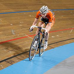 Nederlands Kampioenschap Scratch vrouwen Apeldoorn Nina Kessler
