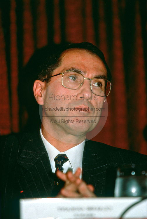 French Interior Minister Claude Gueant October 12, 1997 in Washington, DC.