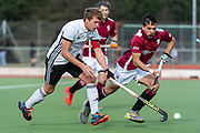 Southgate v Cambridge City - Men's Hockey League East Conference, Quintin Hogg Memorial Ground, Chiswick, London, UK on 10 March 2019. Photo: Simon Parker