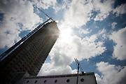 Aanbouw van de 'New Orleans', de toekomstige hoogste woontoren van Nederland (158,35 meter)