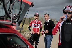 December 15, 2017 - Manacor, Espagne - MANACOR, SPAIN - DECEMBER 15 : WELLENS Tim (BEL) Rider of Team Lotto - Soudal and AERTS Mario (BEL) Sports Director of Team Lotto - Soudal pictured during the training camp of the Lotto Soudal cycling team on December 15, 2017 in Manacor, Spain, 15/12/17 (Credit Image: © Panoramic via ZUMA Press)