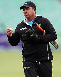 Grant Morgan Hollywoodbets Dolphins Head Coach during the T20 Challenge cricket match between the Hollywoodbets Dolphins and VKB Knights  at the Kingsmead stadium in Durban, KwaZulu Natal, South Africa on the 11 Dec 2016<br /> <br /> Photo by:   Steve Haag / Real Time Images