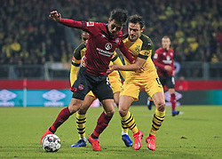 18.02.2019, 22.Spieltag, 1.Bundesliga, 1.FC Nuernberg vs BVB Dortmund, Max Morlock Stadion Nuernberg, Fussball ,Sport im Bild:.. Yuya Kubo ( 1.FC Nuernberg ) vs Thomas Delaney (BVB)..DFL REGULATIONS PROHIBIT ANY USE OF PHOTOGRAPHS AS IMAGE SEQUENCES AND / OR QUASI VIDEO...Copyright: Philippe Ruiz..Tel: 089 745 82 22.Handy: 0177 29 39 408.e-Mail: philippe_ruiz@gmx.de (Credit Image: © Philippe Ruiz/Xinhua via ZUMA Wire)
